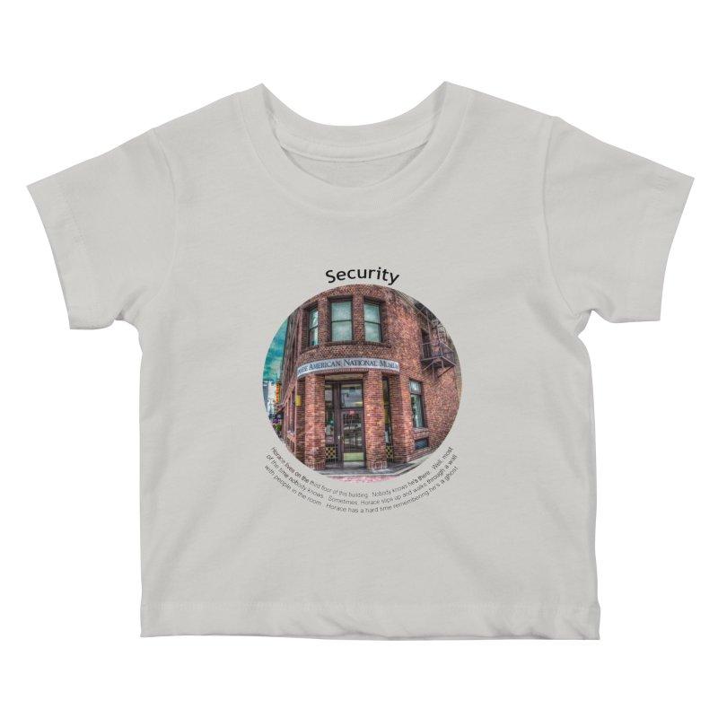 Security Kids Baby T-Shirt by Hogwash's Artist Shop