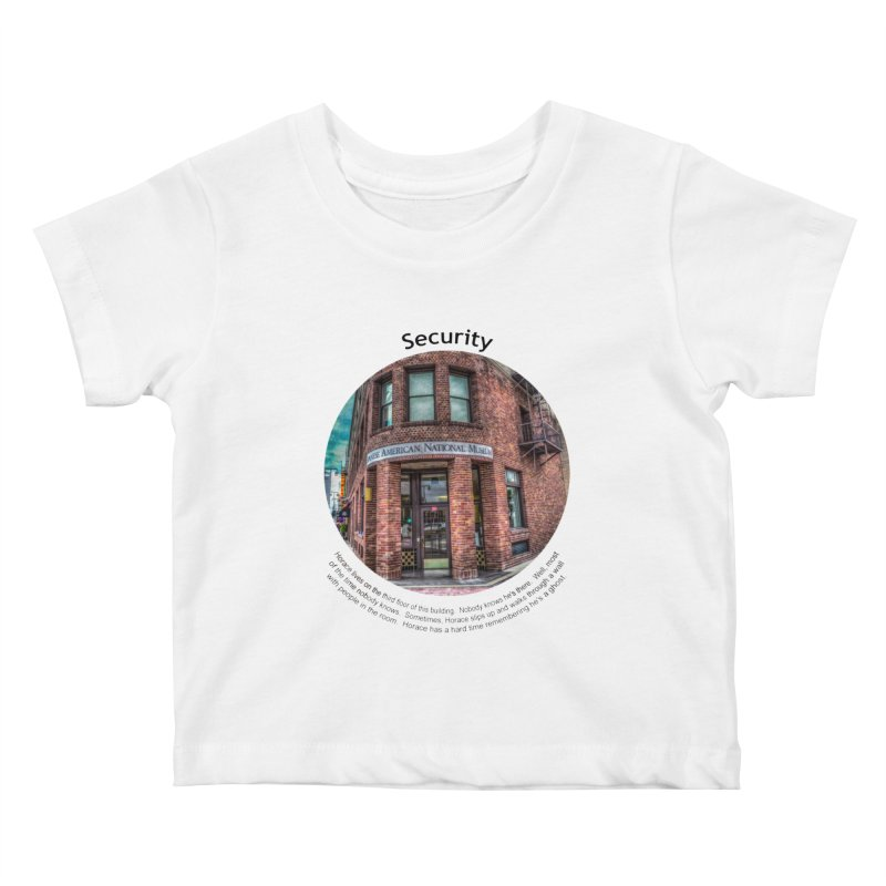 Security Kids Baby T-Shirt by Hogwash's Artist Shop