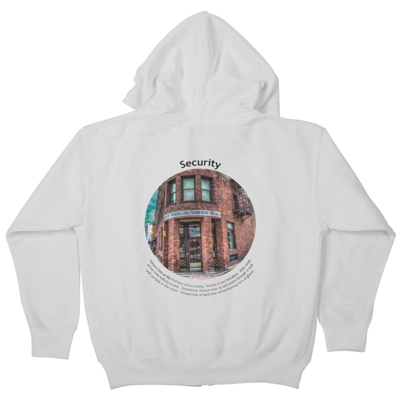 Security Kids Zip-Up Hoody by Hogwash's Artist Shop