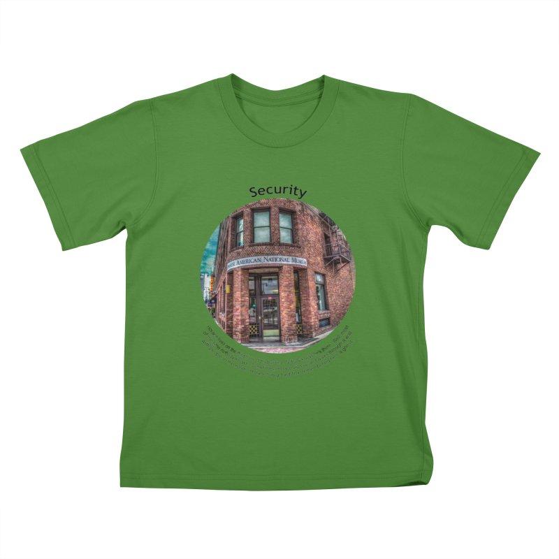 Security Kids T-Shirt by Hogwash's Artist Shop