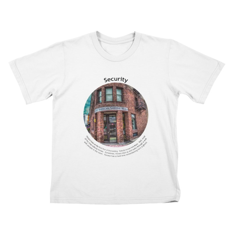 Security Kids T-shirt by Hogwash's Artist Shop