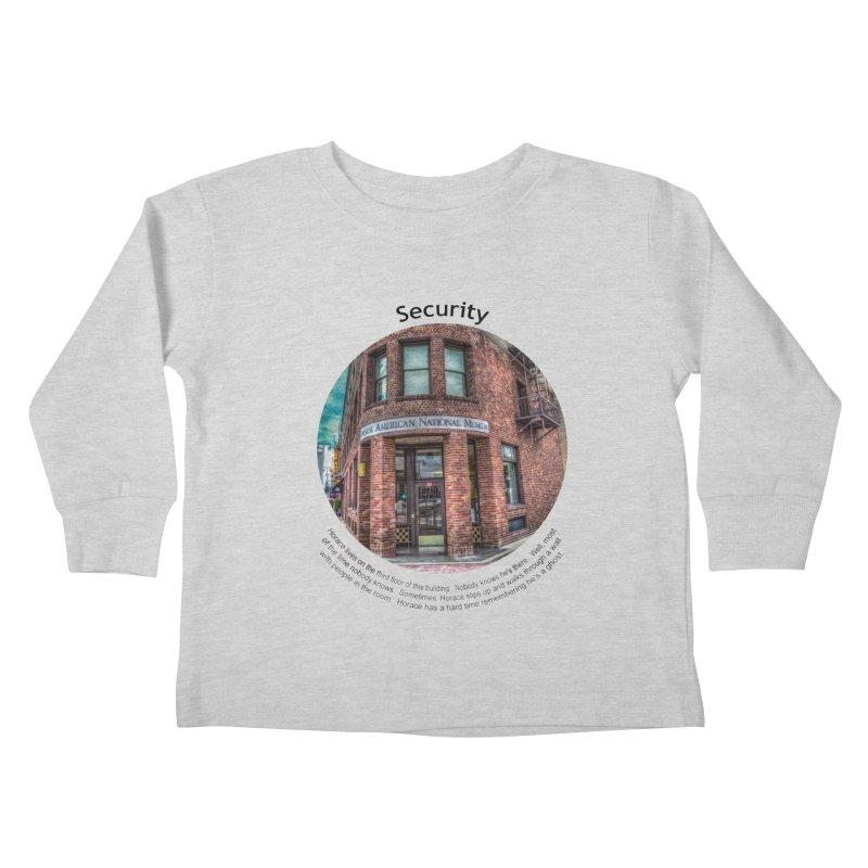 Security Kids Toddler Longsleeve T-Shirt by Hogwash's Artist Shop