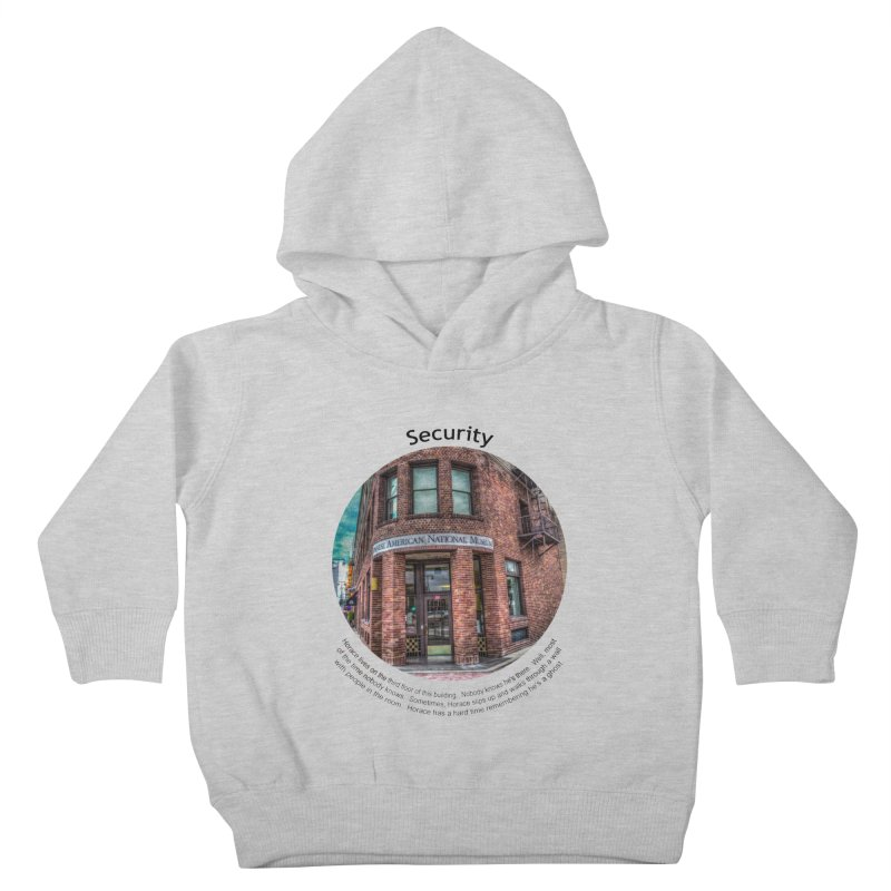 Security Kids Toddler Pullover Hoody by Hogwash's Artist Shop