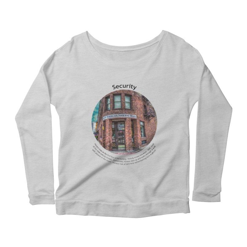 Security Women's Scoop Neck Longsleeve T-Shirt by Hogwash's Artist Shop