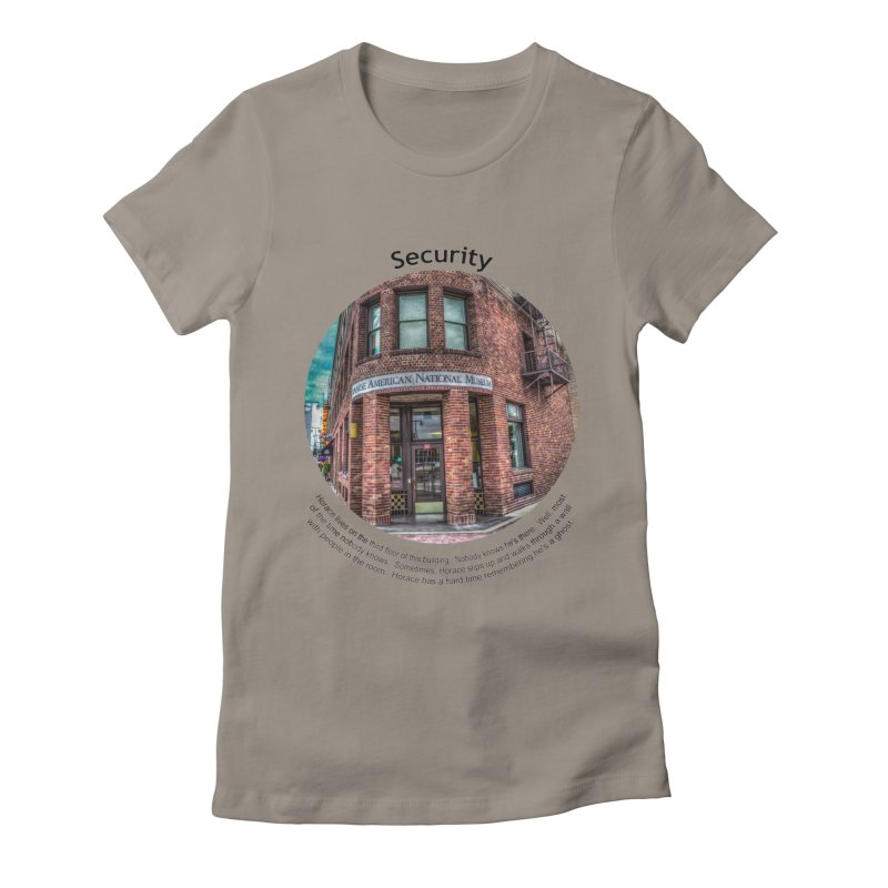 Security Women's Fitted T-Shirt by Hogwash's Artist Shop