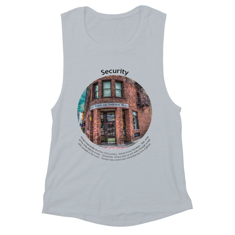 Security Women's Muscle Tank by Hogwash's Artist Shop