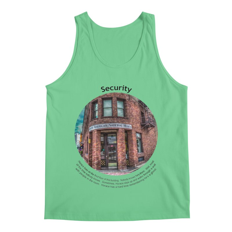 Security Men's Regular Tank by Hogwash's Artist Shop