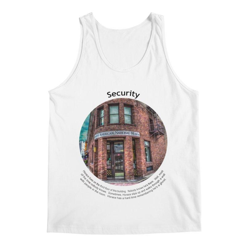Security Men's Regular Tank by Hogwash's Artist Shop