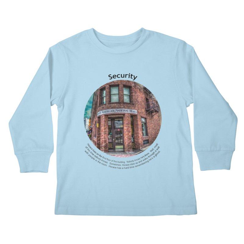 Security Kids Longsleeve T-Shirt by Hogwash's Artist Shop