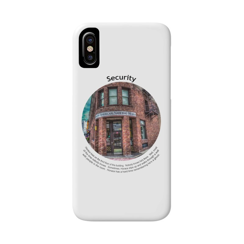 Security Accessories Phone Case by Hogwash's Artist Shop