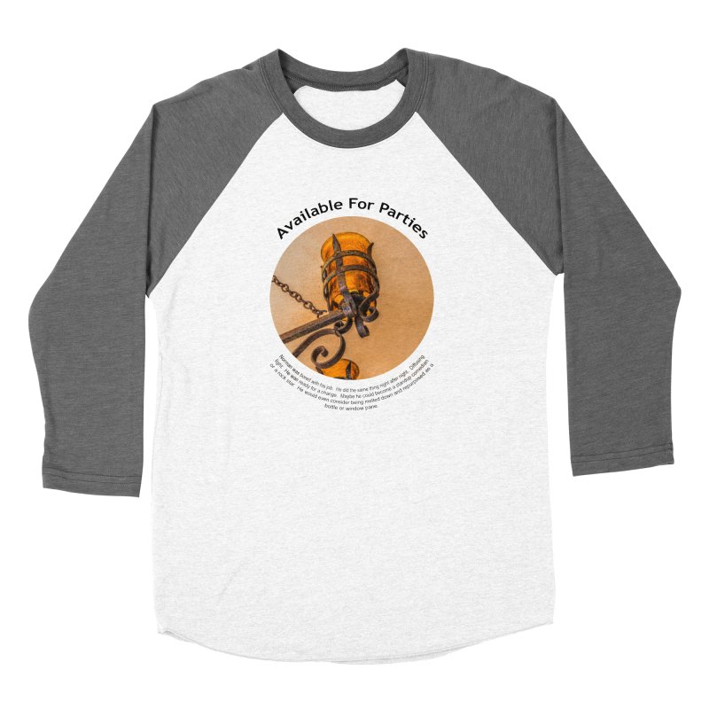 Available For Parties Women's Longsleeve T-Shirt by Hogwash's Artist Shop
