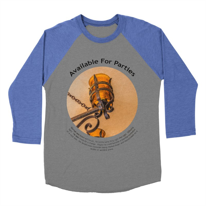 Available For Parties Women's Baseball Triblend Longsleeve T-Shirt by Hogwash's Artist Shop