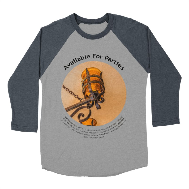 Available For Parties Women's Baseball Triblend Longsleeve T-Shirt by Hogwash's Artist Shop