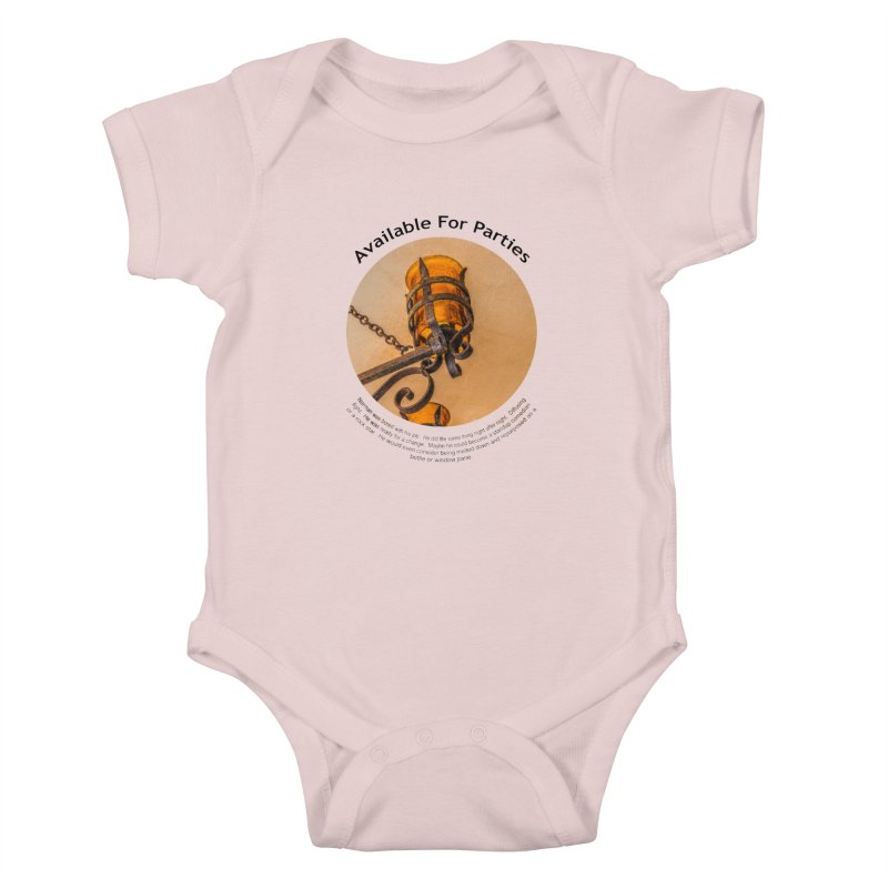 Available For Parties Kids Baby Bodysuit by Hogwash's Artist Shop