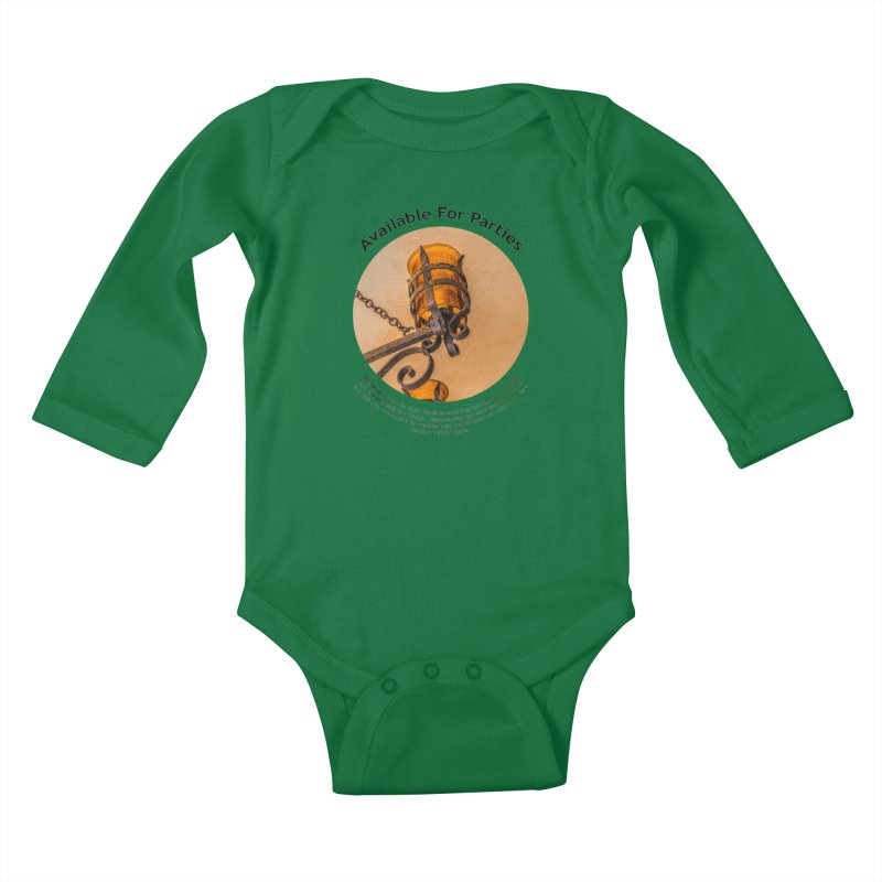 Available For Parties Kids Baby Longsleeve Bodysuit by Hogwash's Artist Shop