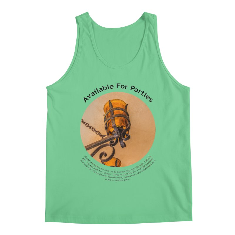 Available For Parties Men's Regular Tank by Hogwash's Artist Shop