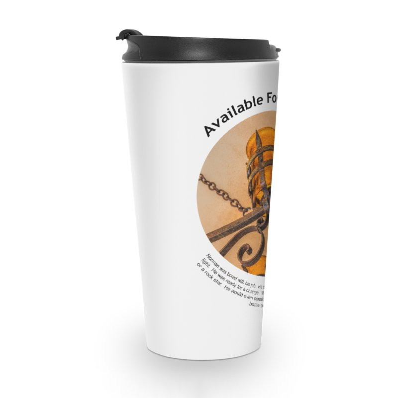 Available For Parties Accessories Travel Mug by Hogwash's Artist Shop