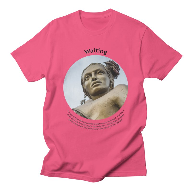 Waiting Men's T-Shirt by Hogwash's Artist Shop