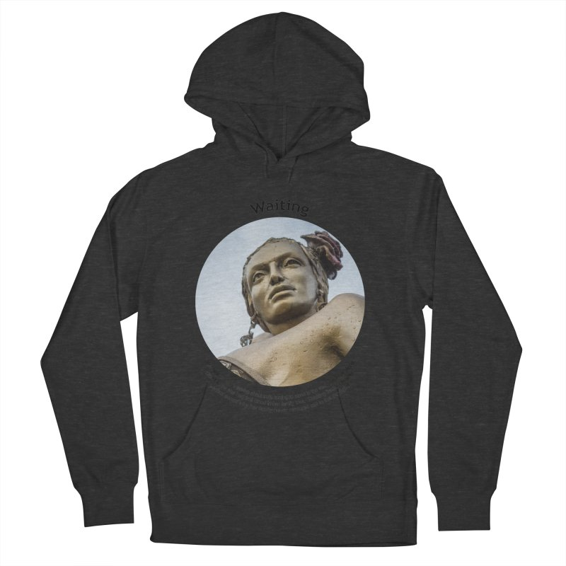 Waiting Women's French Terry Pullover Hoody by Hogwash's Artist Shop