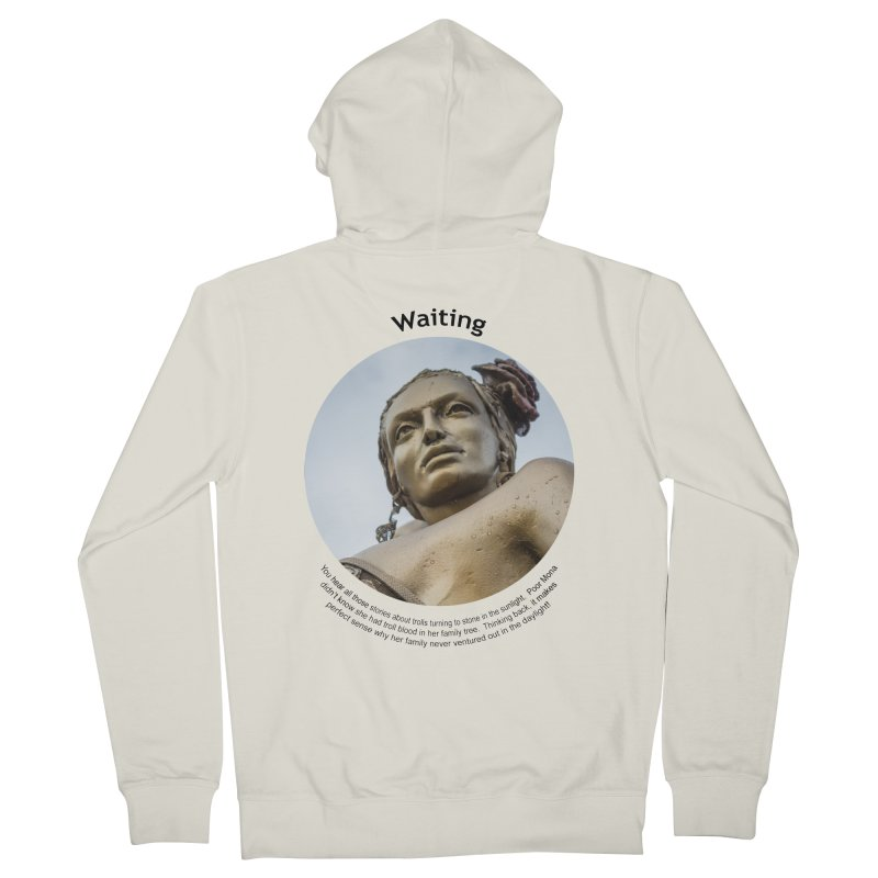 Waiting Men's Zip-Up Hoody by Hogwash's Artist Shop
