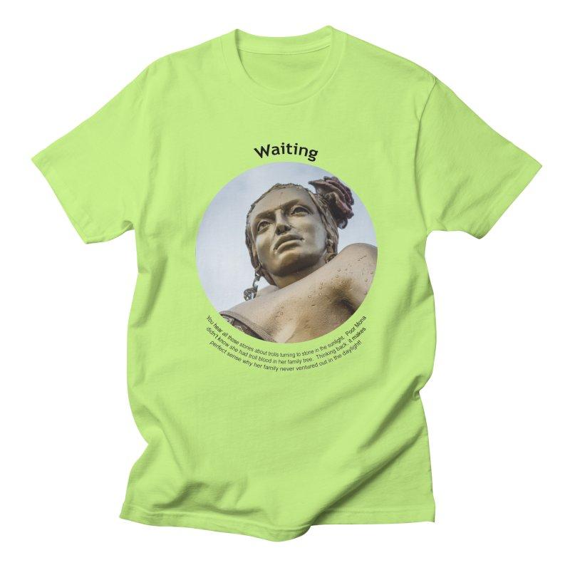 Waiting Men's Regular T-Shirt by Hogwash's Artist Shop