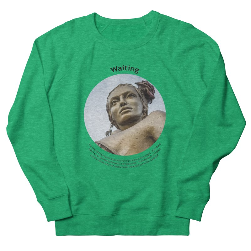 Waiting Men's Sweatshirt by Hogwash's Artist Shop