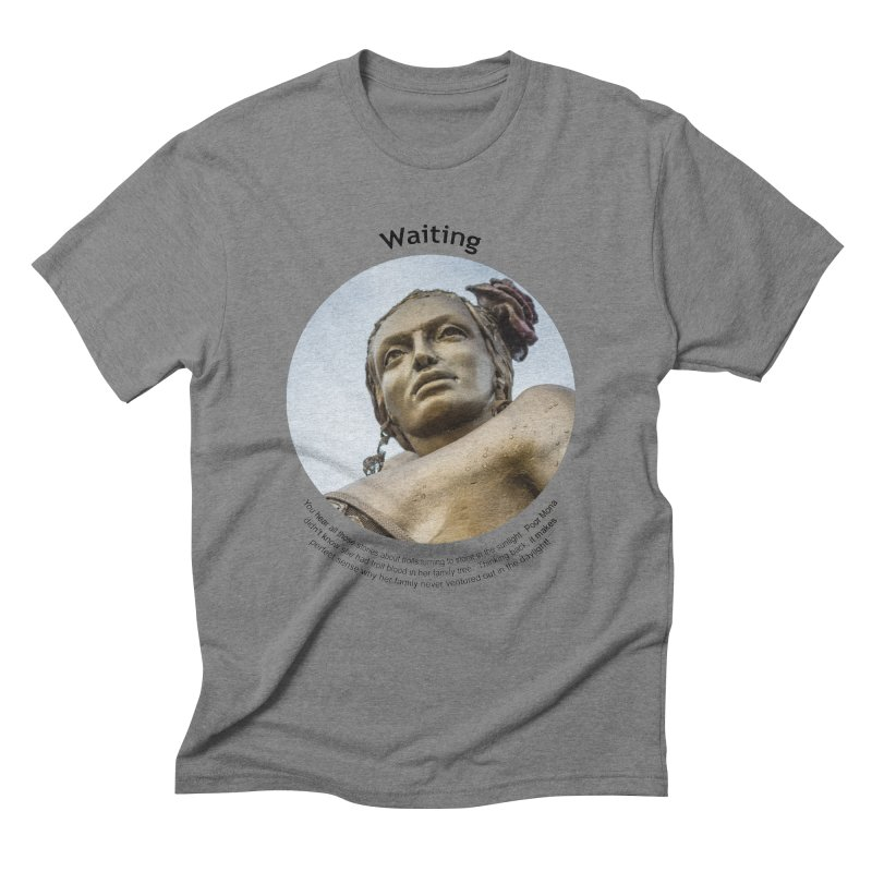 Waiting Men's T-Shirt by Hogwash's Artist Shop