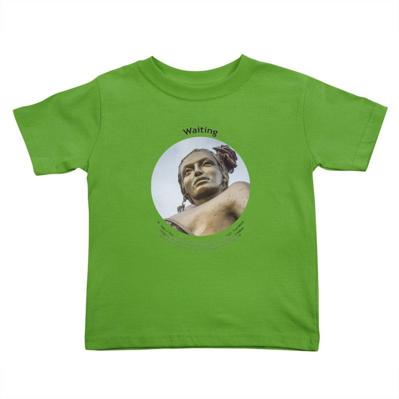 Waiting Kids Toddler T-Shirt by Hogwash's Artist Shop
