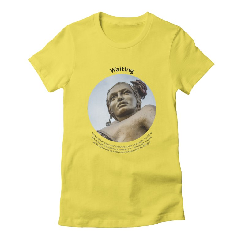 Waiting Women's T-Shirt by Hogwash's Artist Shop