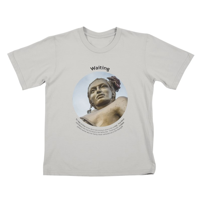 Waiting Kids T-shirt by Hogwash's Artist Shop