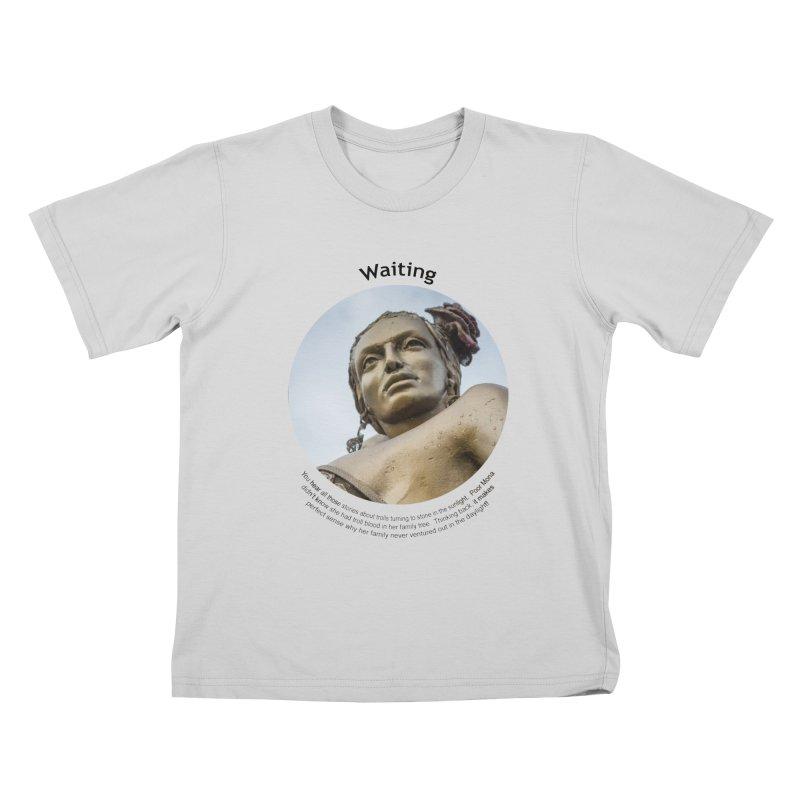 Waiting Kids T-Shirt by Hogwash's Artist Shop