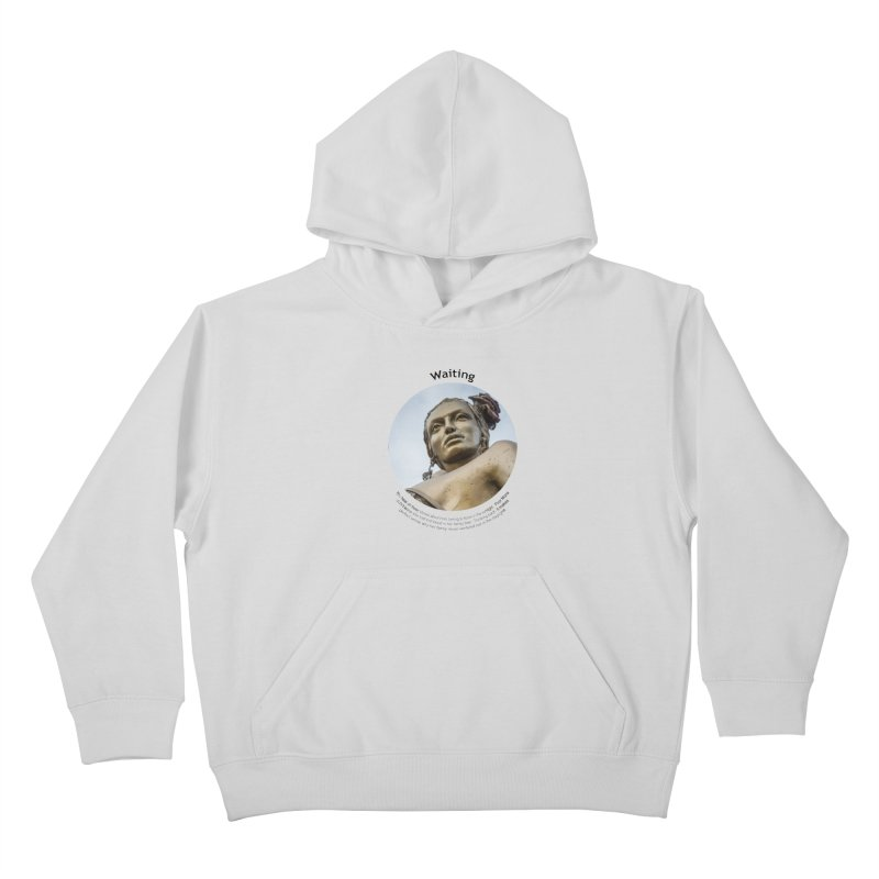 Waiting Kids Pullover Hoody by Hogwash's Artist Shop