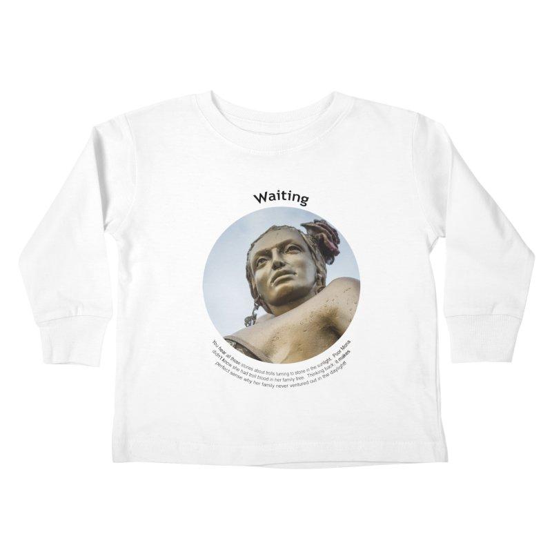 Waiting Kids Toddler Longsleeve T-Shirt by Hogwash's Artist Shop