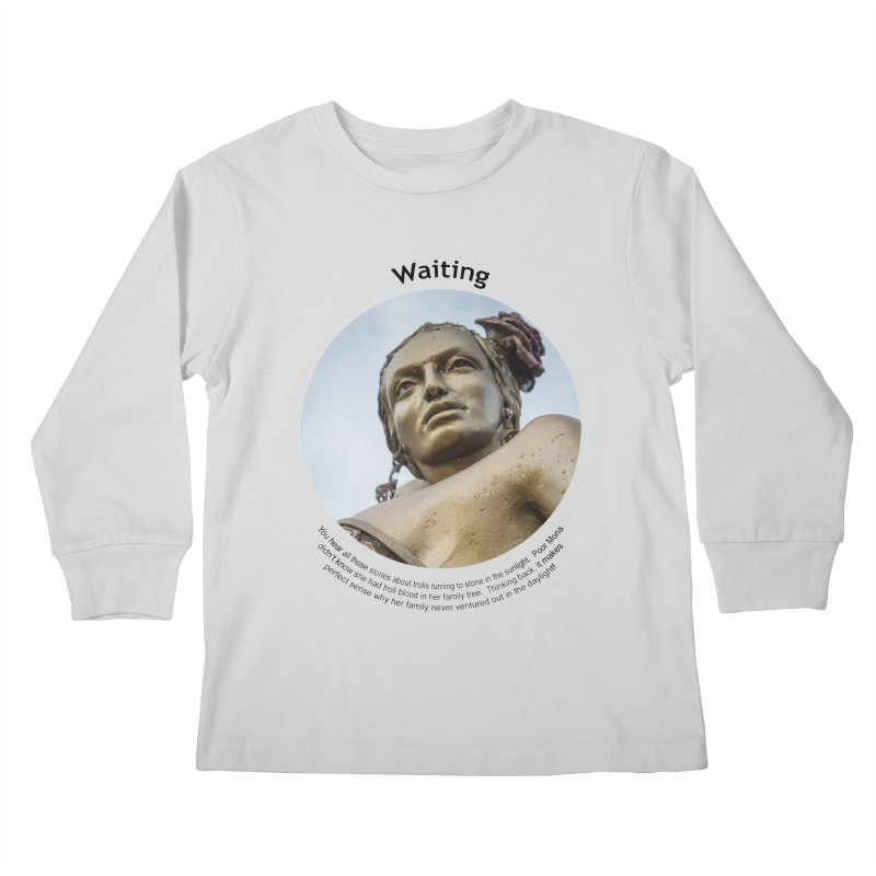 Waiting Kids Longsleeve T-Shirt by Hogwash's Artist Shop