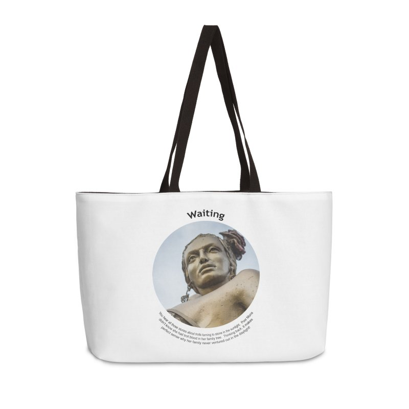 Waiting Accessories Bag by Hogwash's Artist Shop