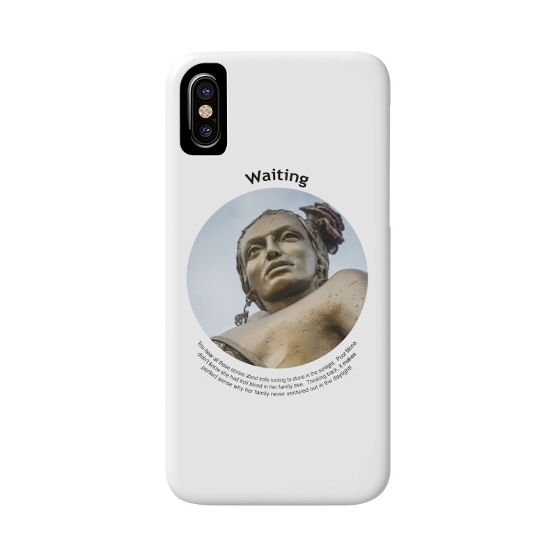 Waiting Accessories Phone Case by Hogwash's Artist Shop