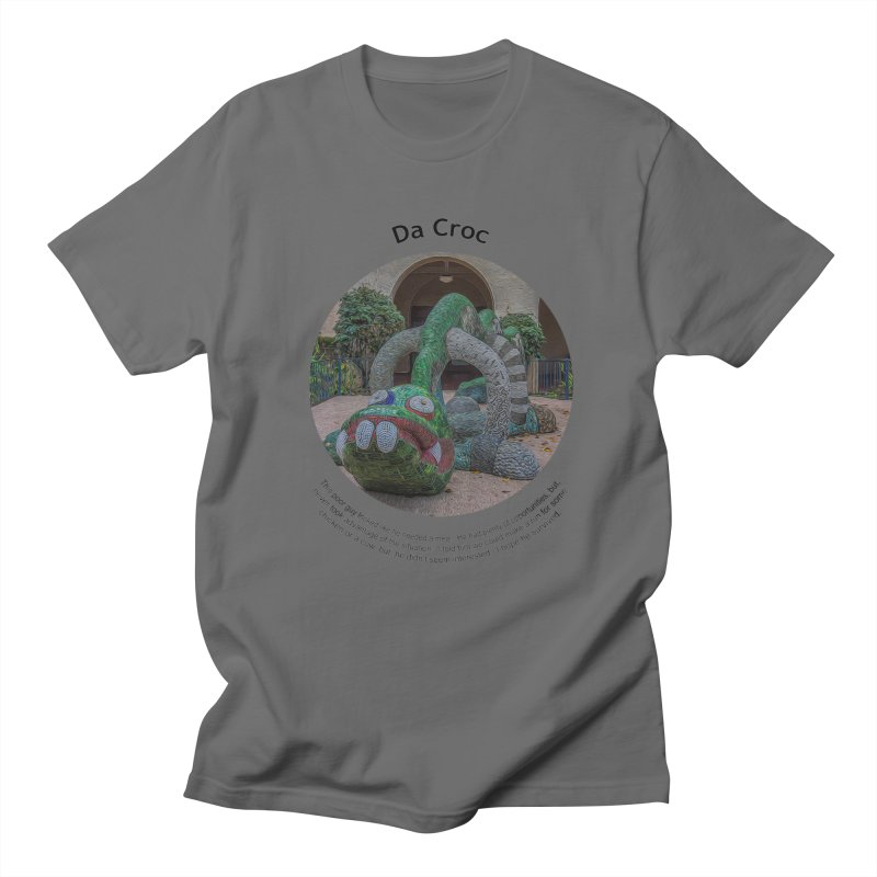 Da Croc Men's T-Shirt by Hogwash's Artist Shop