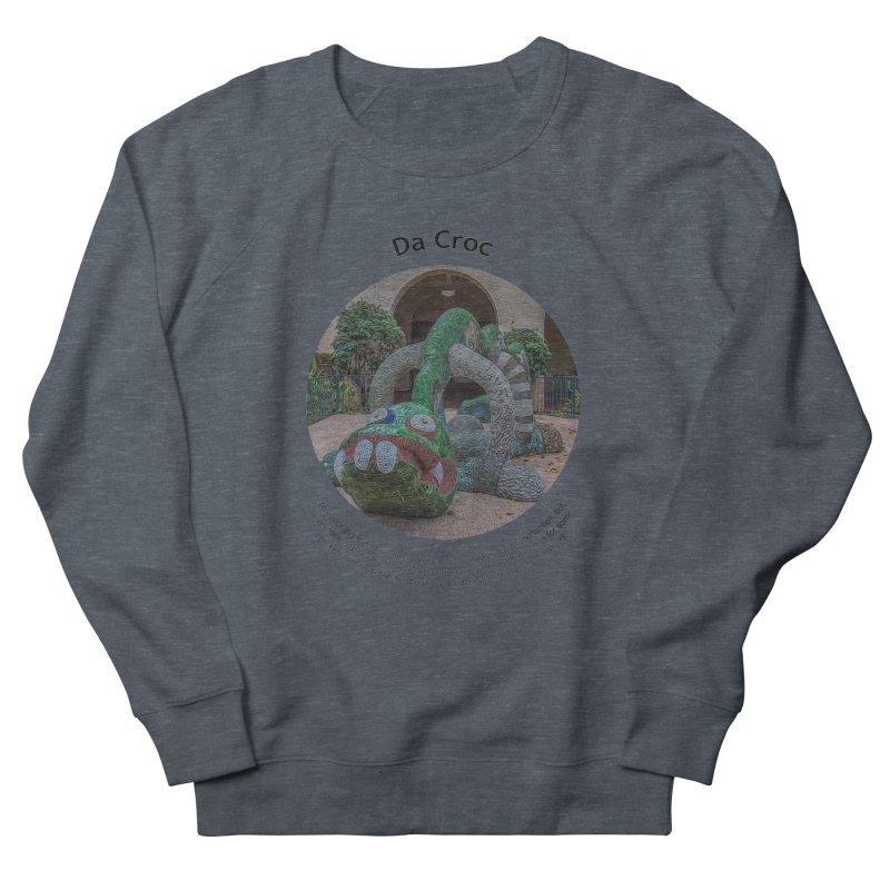 Da Croc Men's Sweatshirt by Hogwash's Artist Shop