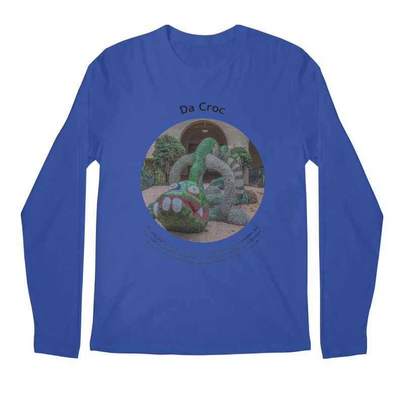 Da Croc Men's Regular Longsleeve T-Shirt by Hogwash's Artist Shop