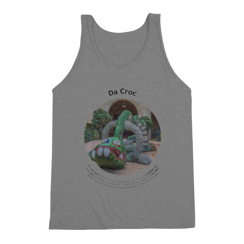 Da Croc Men's Tank by Hogwash's Artist Shop