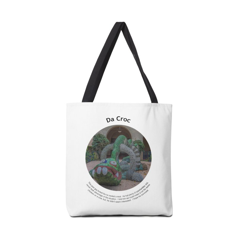 Da Croc Accessories Bag by Hogwash's Artist Shop