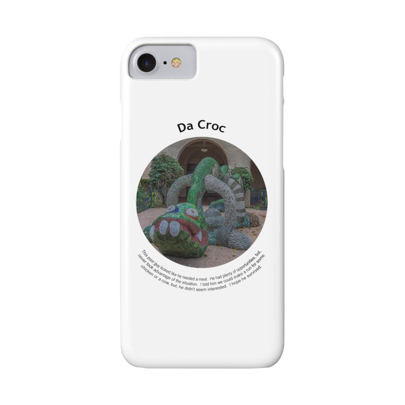 Da Croc Accessories Phone Case by Hogwash's Artist Shop