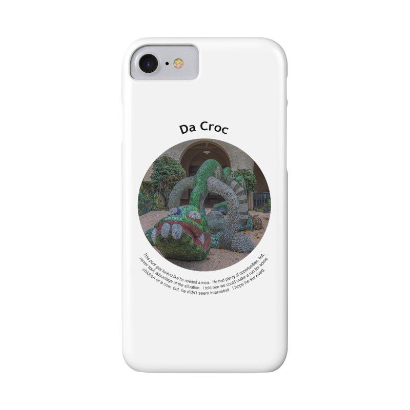Da Croc Accessories Phone Case by Hogwash's Artist Shop