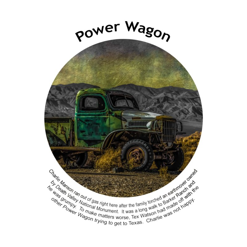 Power Wagon Men's Sweatshirt by Hogwash's Artist Shop