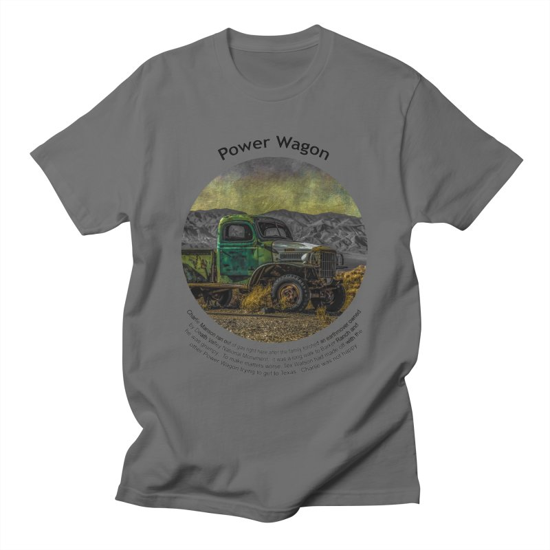 Power Wagon Men's T-Shirt by Hogwash's Artist Shop