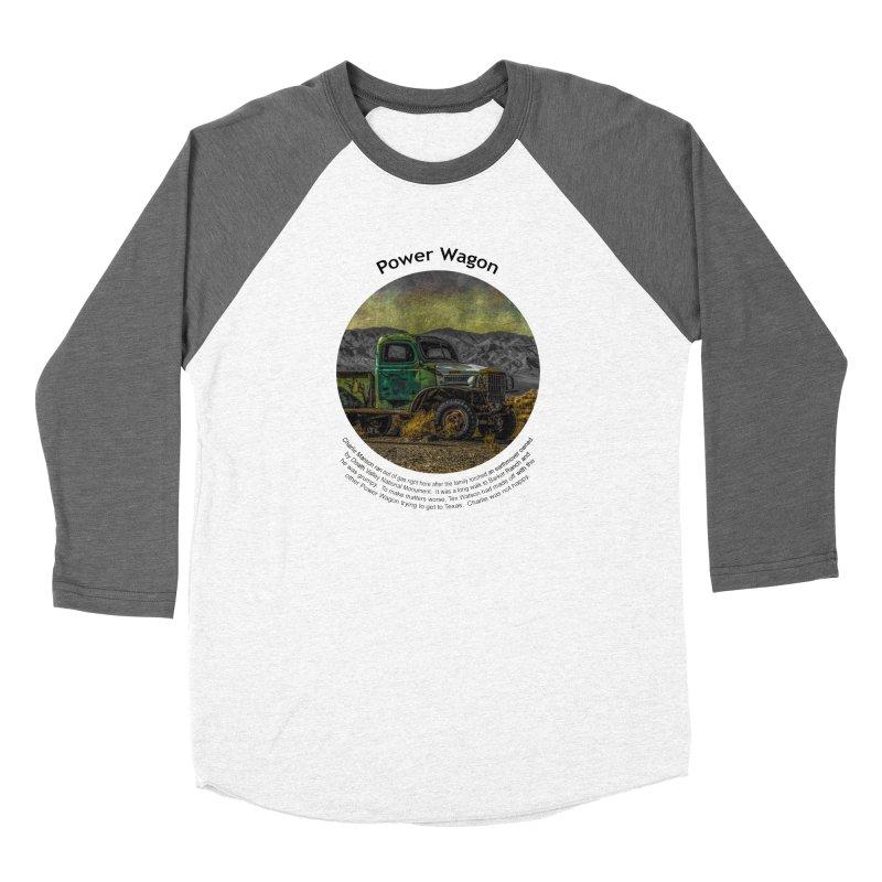Power Wagon Women's Longsleeve T-Shirt by Hogwash's Artist Shop
