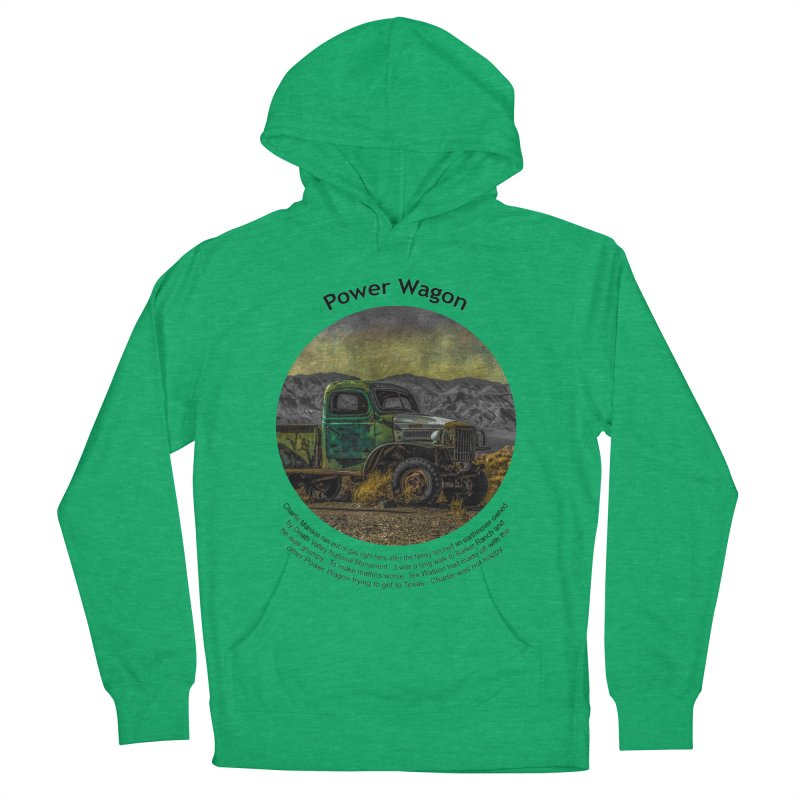 Power Wagon Women's French Terry Pullover Hoody by Hogwash's Artist Shop