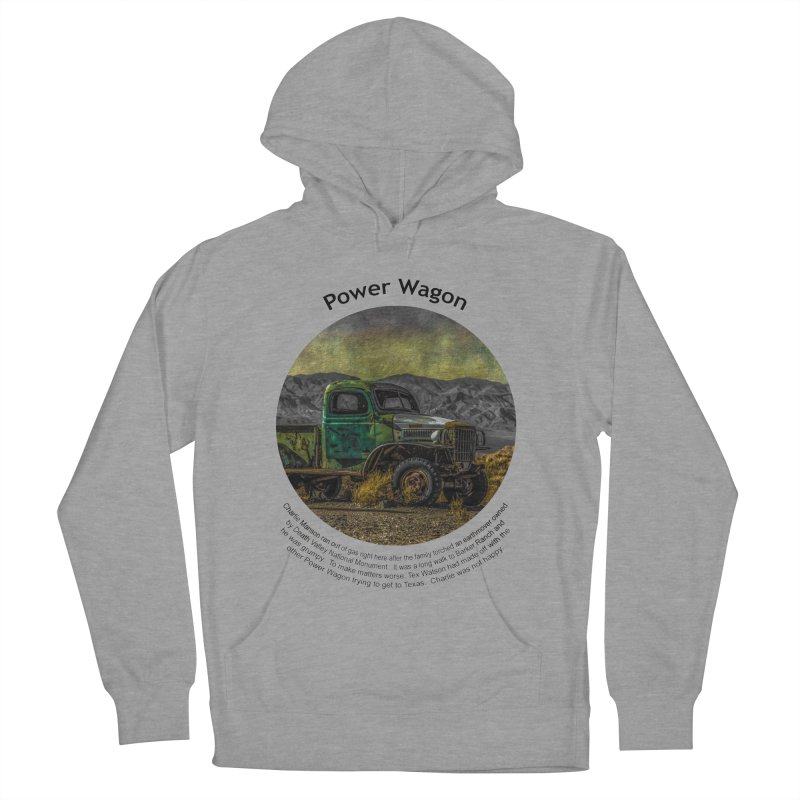 Power Wagon Women's Pullover Hoody by Hogwash's Artist Shop