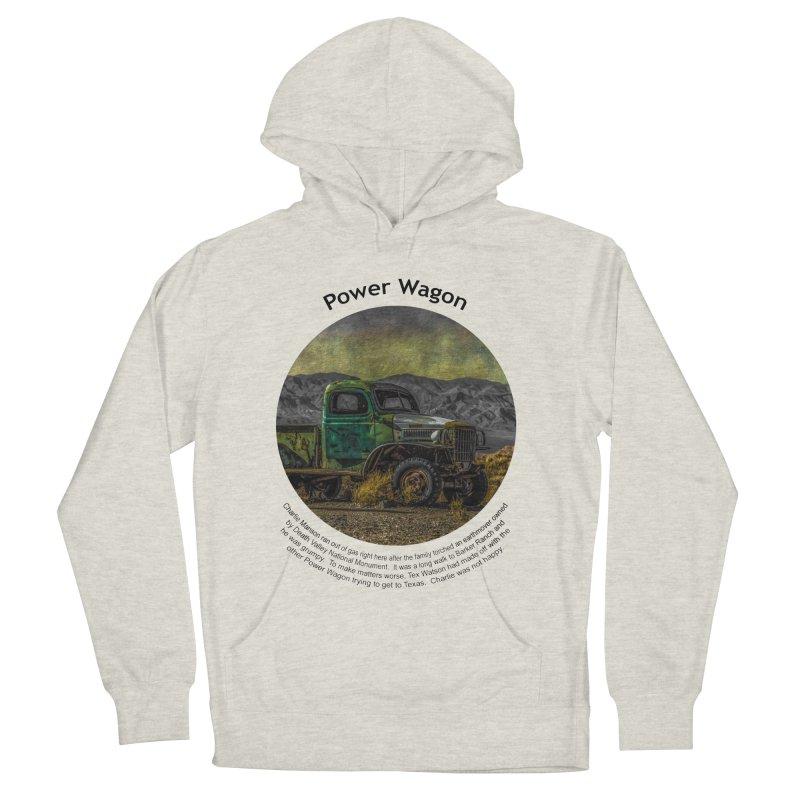 Power Wagon Women's Pullover Hoody by Hogwash's Artist Shop
