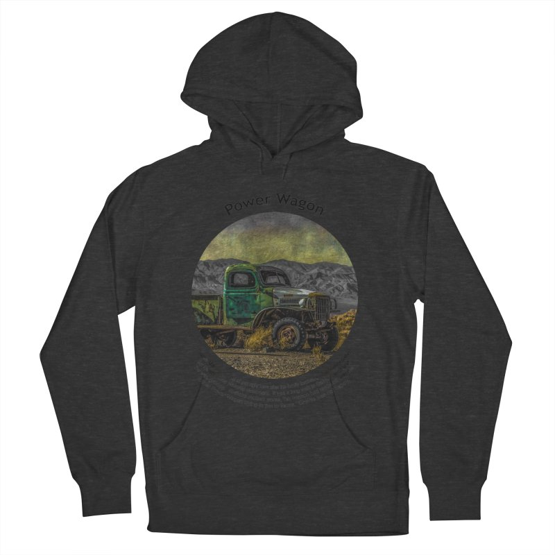 Power Wagon Men's Pullover Hoody by Hogwash's Artist Shop